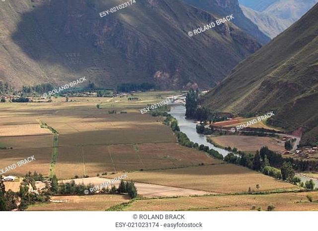 Ackerbau in Peru