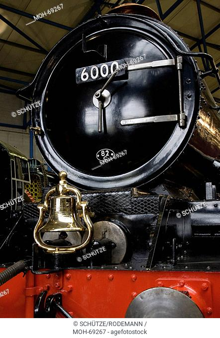 York National Railway Museum. Dampflok Nr. 6000 Das National Railway Museum NRM in York ist Teil des britischen National Museum of Science and Industry und...