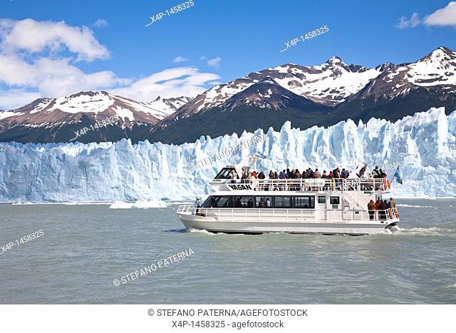 The Perito Moreno Glacier is a glacier located in the Los Glaciares National Park in the south west of Santa Cruz province, Argentina