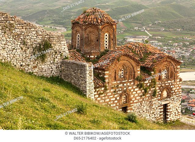 Albania, Berat, Kala Citadel, Church of the Holy Trinity
