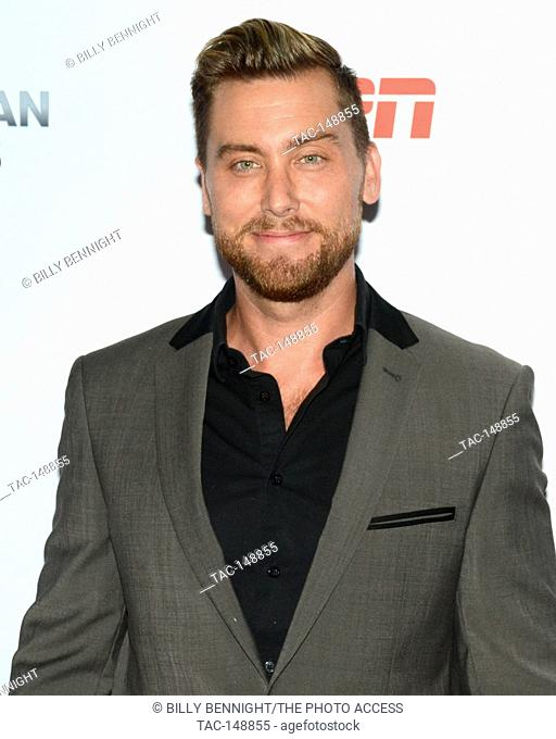 Lance Bass attends the 3rd Annual Sports Humanitarian of the Year Awards at LA LIVE'S The Novo in Los Angeles on July 11, 2017