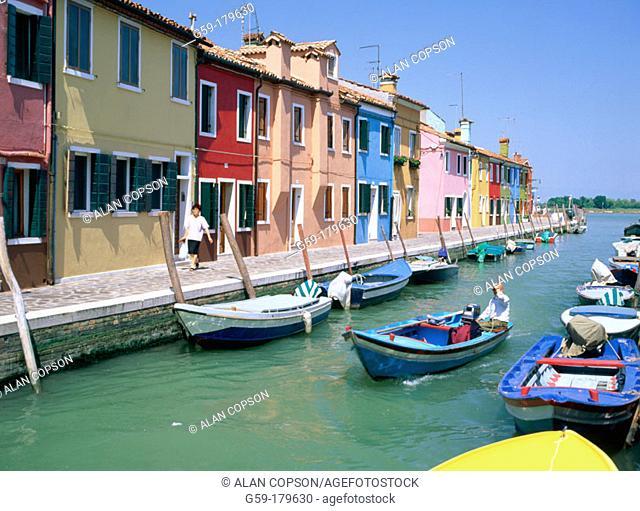 Burano Island. Venice. Italy