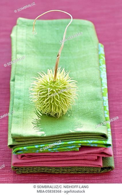 Rambutan on napkin batch