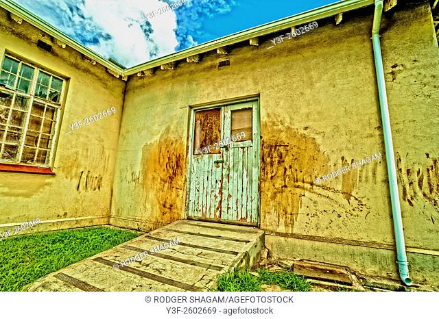 Locked doors ... keeping people out - or patients in ... Cape Town, South Africa