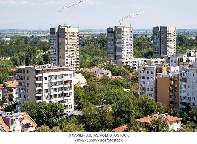 Buildings, Plovdiv, Bulgaria