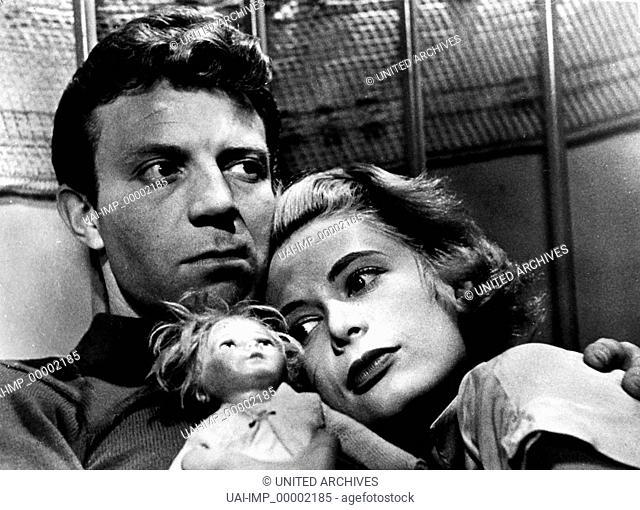 Der Tiger von New York, (KILLER'S KISS) USA 1955 s/w, Regie: Stanley Kubrick, JAMIE SMITH, IRENE KANE Stichwort: Puppe
