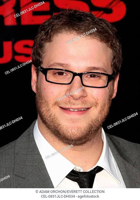 Seth Rogen at arrivals for THE PINEAPPLE EXPRESS Premiere, Mann's Village Theatre in Westwood, Los Angeles, CA, July 31, 2008