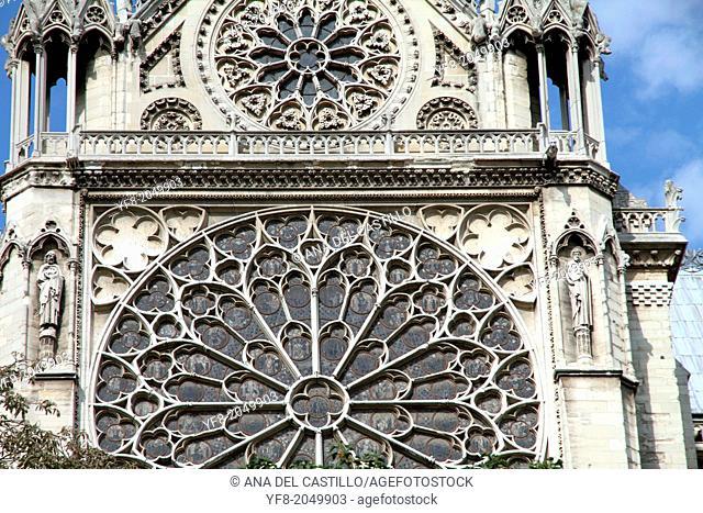 Notre Dame church, Paris, France