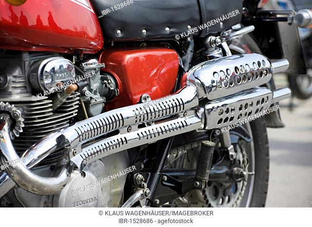 Historic motorcycle manufacturer Stock Photos and Images