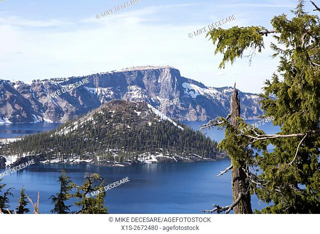Crater Lake in Central Oregon