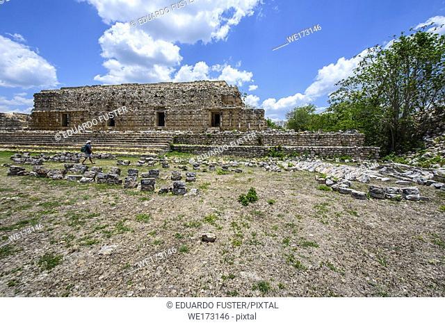 The ruins at Kabah, Yucatan Peninsula, Mexico
