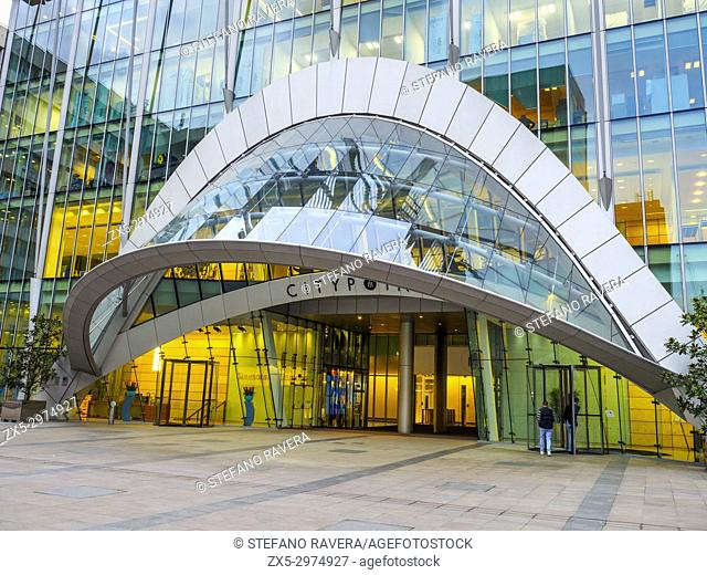 CityPoint (previously known as Britannic House and Britannic Tower) building - London, England