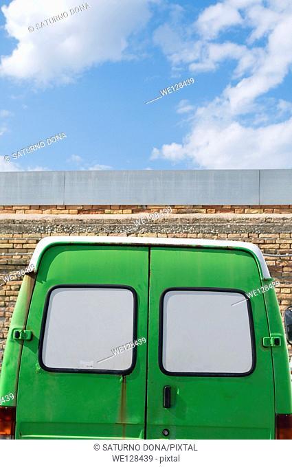 Old Green Van