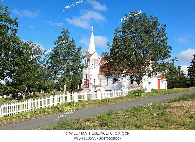 St. Peter's Anglican Church at Murphy Cove, Nova Scotia, Canada