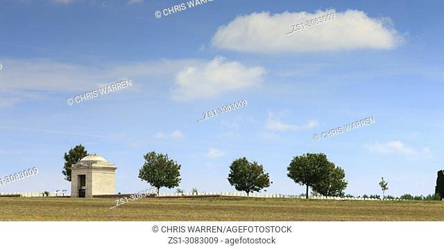 Mill Road Cemetery Thiepval Albert Peronne Somme Hauts-de-France France