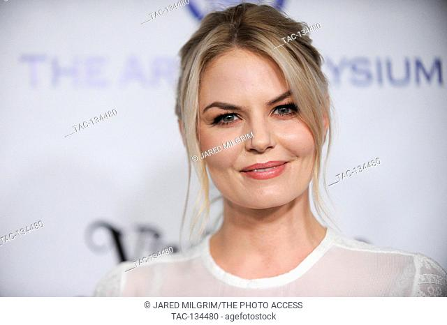 Jennifer Morrison attends The Art of Elysium 2016 HEAVEN Gala at 3LABS on January 9th, 2016 in Culver City, California