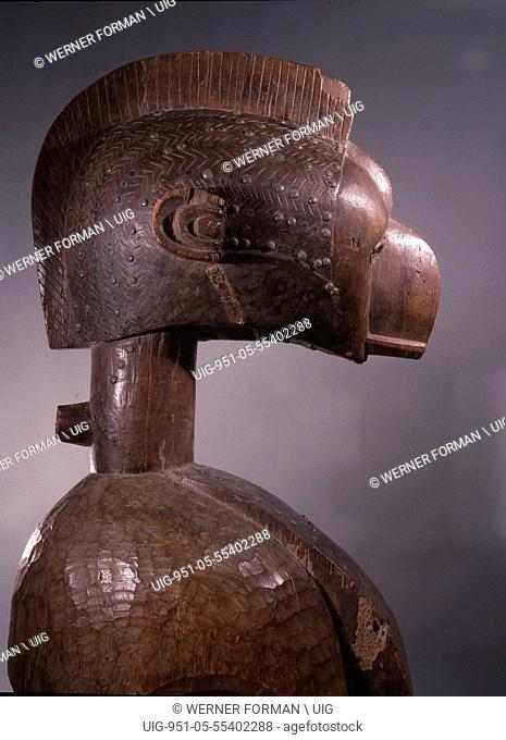 Often incorrectly called Nimba, these headdresses known locally as Damba were owned by Baga villages