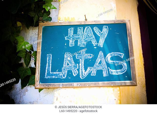Bar in Cabo de Gata, Almeria, Spain