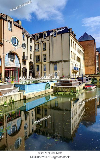 Hotel you Theatre, Pont Saint-Marcel, Metz, Département Moselle, region Alsace-Champagne-Ardenne-Lorraine, France