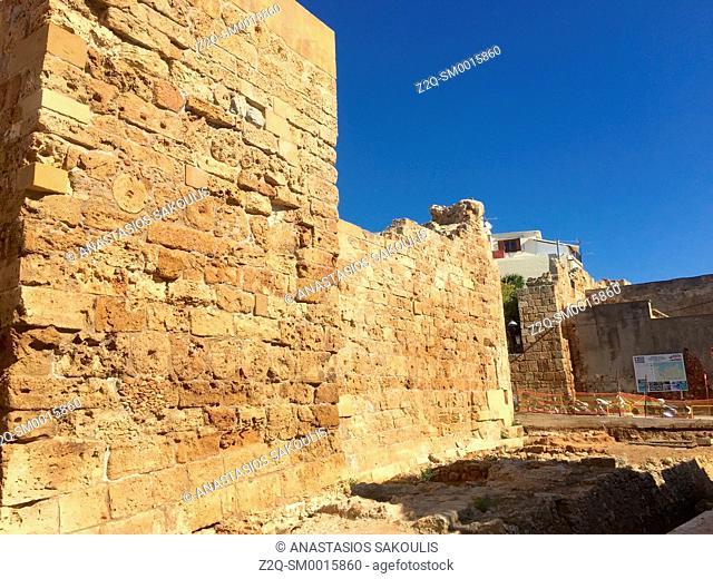 Venetian Walls of Chania, Crete, Greece