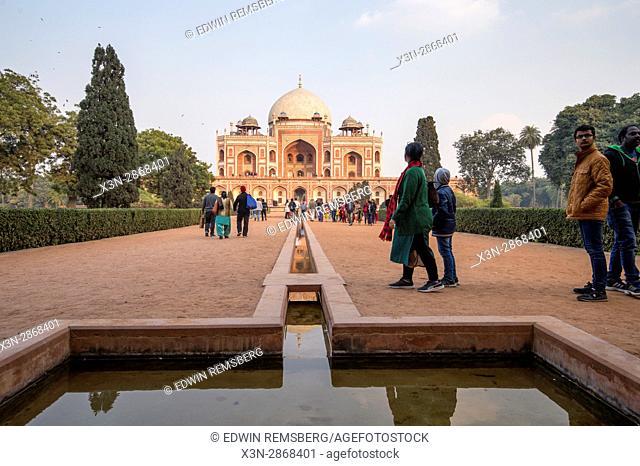 Humayun's tomb, located in New Delhi, India