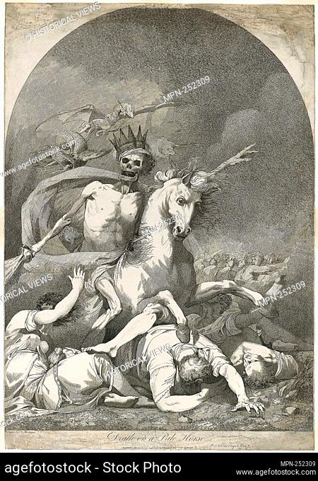 Death on a Pale Horse - 1784, after the drawing of 1775 - Joseph Haynes (English, 1760-1829) after John Hamilton Mortimer (English