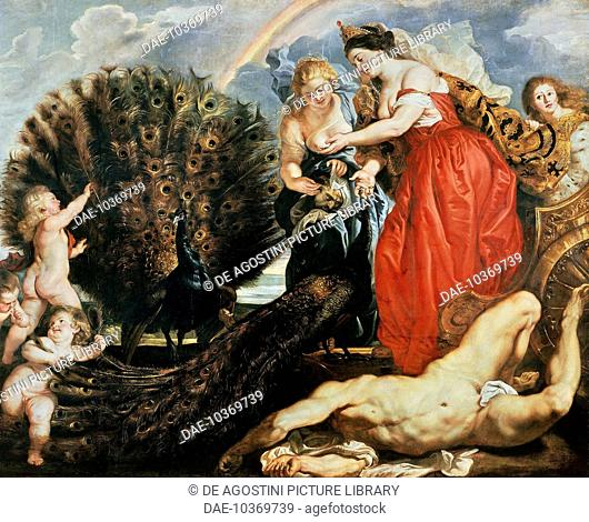 Juno and Argus, 1610-1611, by Peter Paul Rubens (1577-1640), oil on panel, 249x300 cm. Belgium, 17th century.  Cologne, Wallraf-Richartz-Museum (Picture...