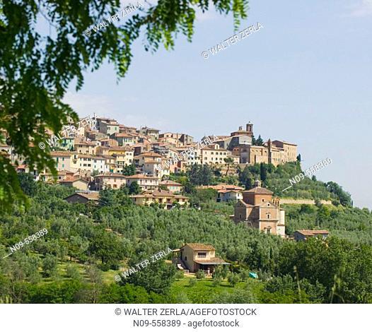 Chianciano. Siena province, Tuscany, Italy