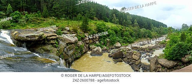 Woodhouse Falls near Karkloof Falls. Howick. KwaZulu Natal Midlands. South Africa