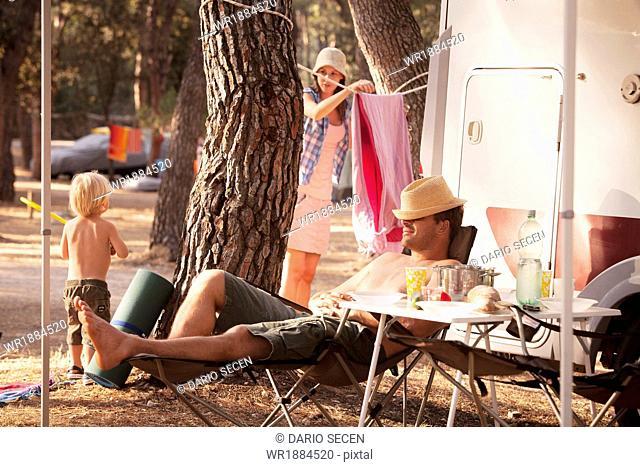 Croatia, Dalmatia, Family Holidays on Camp Site
