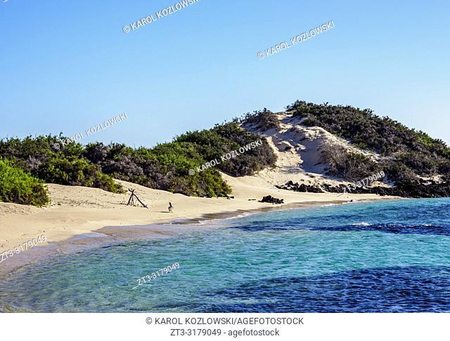 Beach in Sullivan Bay, Santiago or James Island, Galapagos, Ecuador