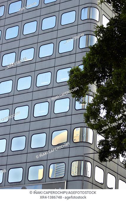 Reflections in Architecture, Hong Kong Island, Hong Kong, China