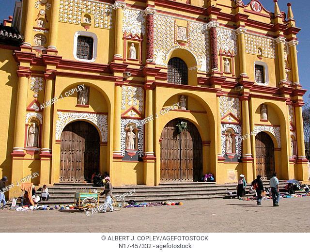 Cathedral, San Cristóbal de las Casas. Chiapas, Mexico