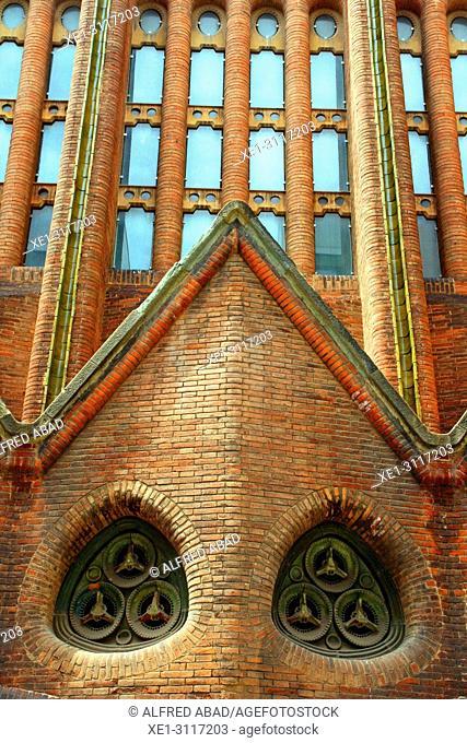 Parish of the Mare de Deu del Carme of Raval, Barcelona, Catalonia, Spain
