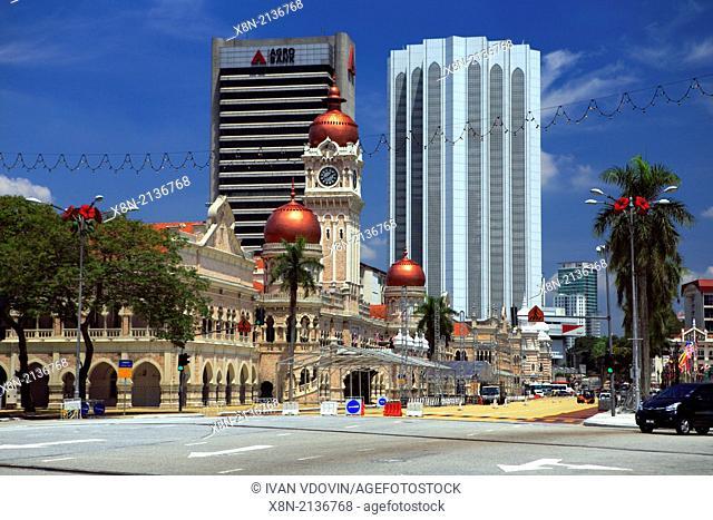Sultan Abdul Samad Building, Merdeka square, Kuala Lumpur, Malaysia