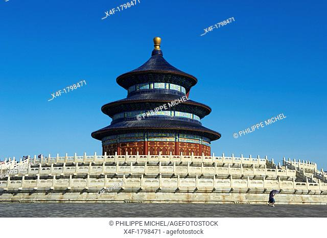 China, Beijing, Temple of Heaven, Unesco world heritage