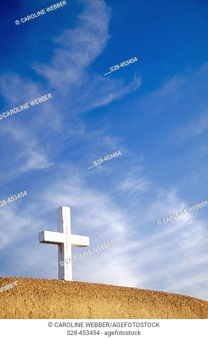 St. Francis of Assisi Church in Rancho de Taos, New Mexico, USA