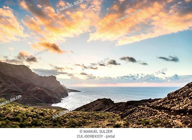 North West coast of Gran Canaria near Agaete, Canary Islands, Spain