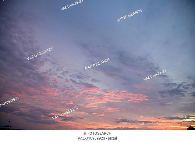 The Sky At Dusk