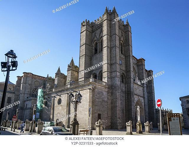 Catedral del Salvador, Ã. vila, Castile and León, Spain