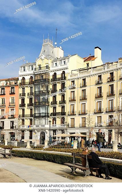 Plaza de Oriente in Madrid, Spain