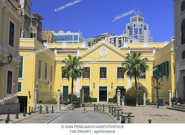 Historic Portuguese Building, Macau, China
