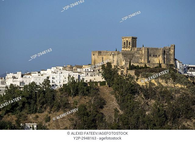 Arcos de la Frontera, one of small white towns of Andalusia, Spain