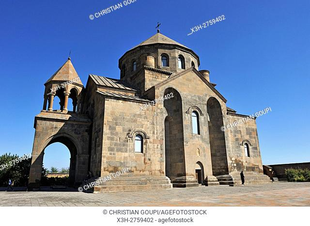Armenian Apostolic Saint Hripsime Church (7th century), city of Vagharshapat (holy city of Etchmiadzin), UNESCO World Heritage Site, Yerevan, Armenia, Eurasia