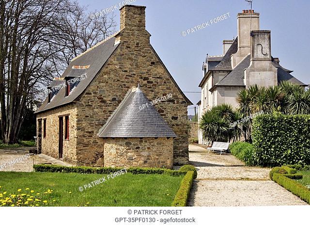 BAKEHOUSE, MALOUINIERE DU PUITS SAUVAGE, A CORSAIRS' HOUSE, HAMLET OF SAINT-ETIENNE, SAINT-MALO, ILLE-ET-VILAINE 35, FRANCE