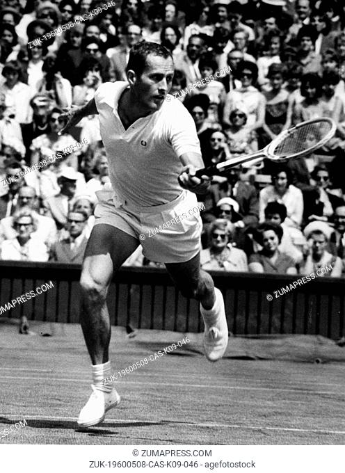 May 8, 1960 - Location Unknown - NEALE FRASER, born October 3, 1933, is a professional tennis player from Australia. He has won numerous titles including...