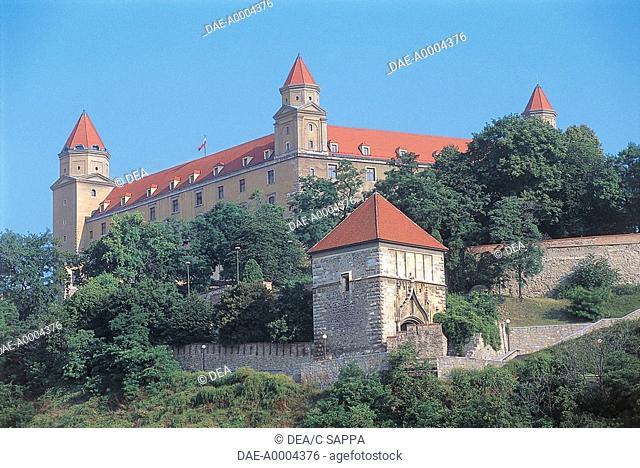 Slovakia - Bratislava. Castle (Hrad)