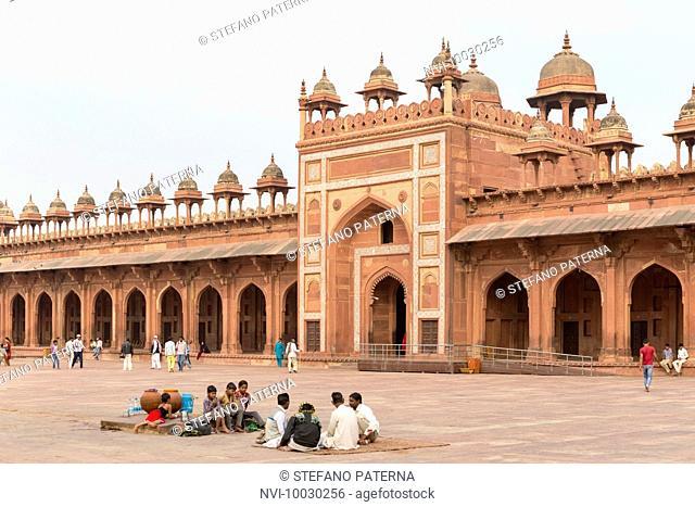 Jami Masjid Mosque, Fatehpur Sikri, Uttar Pradesh, India