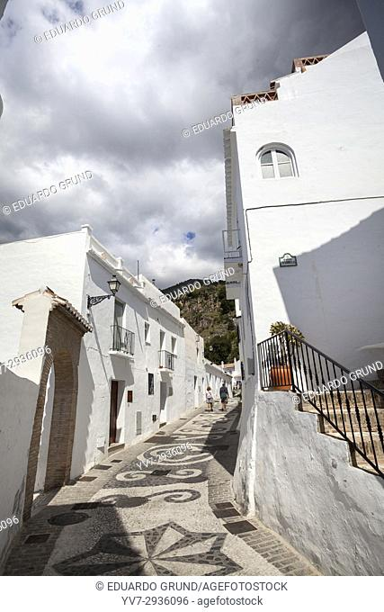 Hideouts of Frigiliana. Frigiliana, Andalusia, Spain, Europe