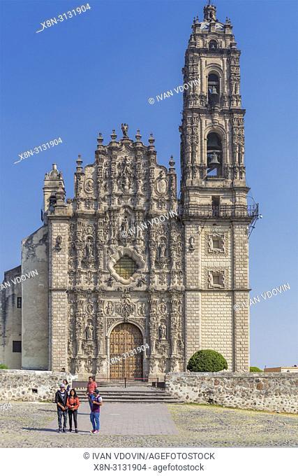 Museum of Viceroyalty, former San Francisco Javier Jesuit College, 18th century, Tepotzotlan, Mexico
